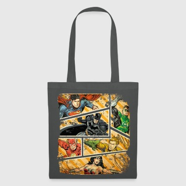 DC Comics Ligue de Justice D'Amérique Collage - Tote Bag