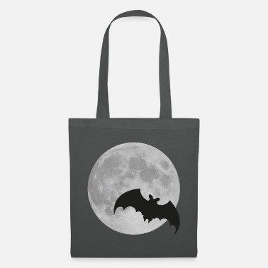 For Him Moon bat full moon Halloween night flying fox - Tote Bag