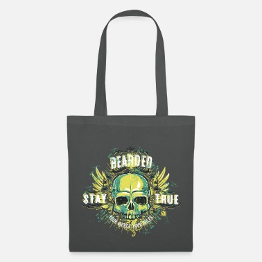 Beard Bearded Stay True Your Choice Your Rules - Tote Bag