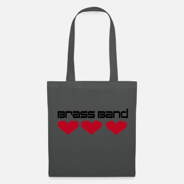 Brass Band Brass Band Hearts - Tote Bag