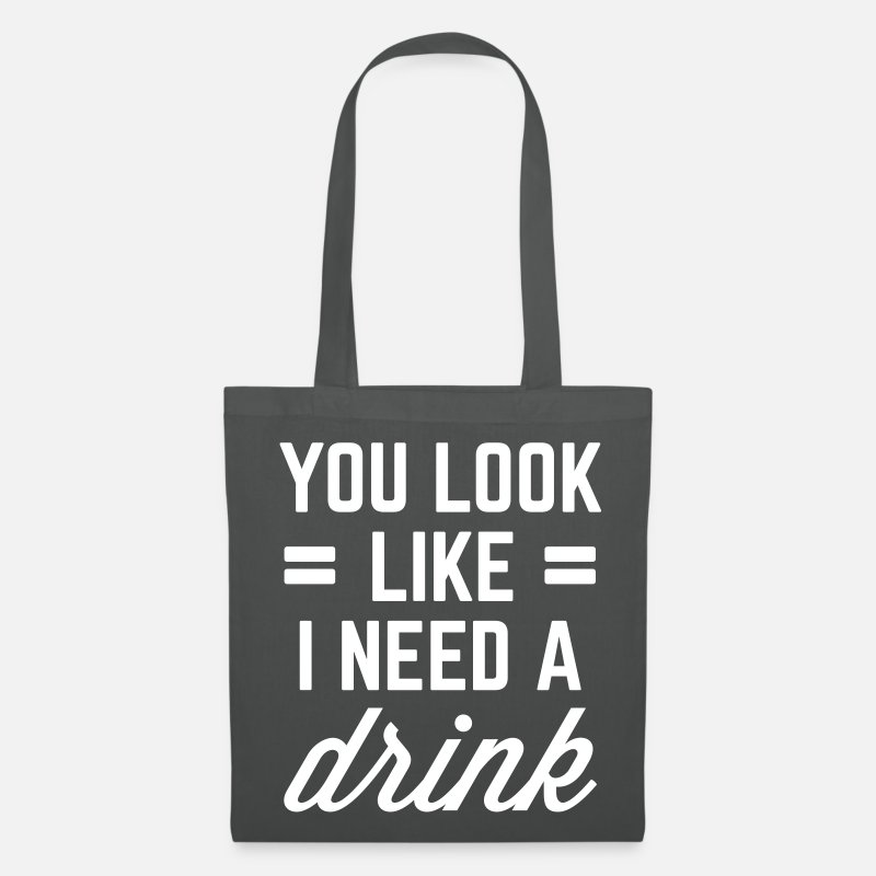 I Need A Drink Funny Quote Stoffentas Spreadshirt