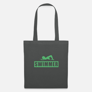 Swim Swimming swimming swimming swimming - Tote Bag