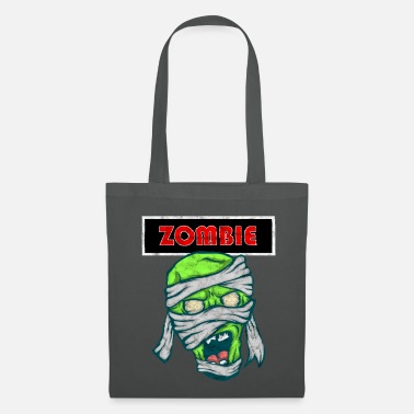 Virus Zombie | Horror Thriller Vendaje Creepy Monster - Bolsa de tela