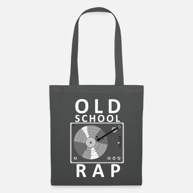 Turntable Old School Record Player Vintage - Tote Bag