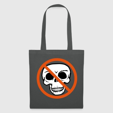 The forbidden sign sign symbol intersected - Tote Bag