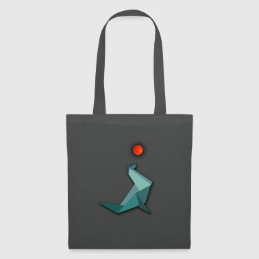 Origami Seal Seal with water polo - Tote Bag