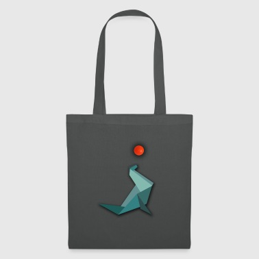 Water Origami Seal Seal with water polo - Tote Bag