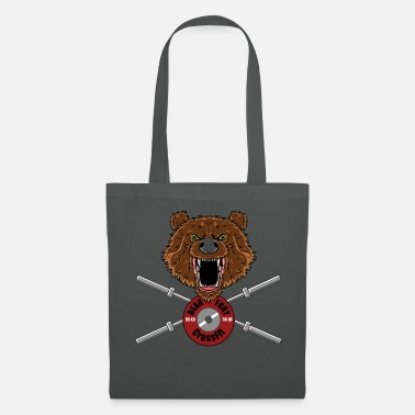 Bear Fury Crossfit - Tote Bag