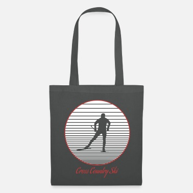 Cross Country Skiing cross-country skiing - Tote Bag