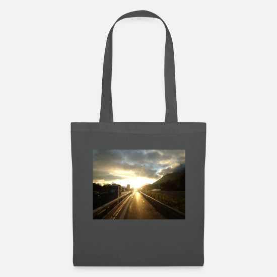 Mood Bags & Backpacks - light on - Tote Bag graphite grey