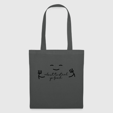 Stealing food - Tote Bag