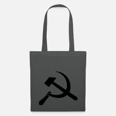 Sickle hammer and sickle - Tote Bag