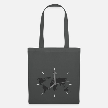 Clock World Clock - Tas van stof