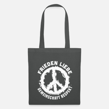 Community Peace Love Community Respect Peace - Tote Bag