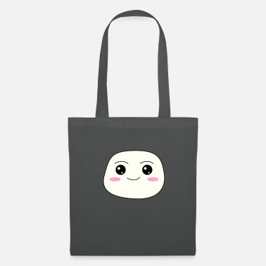 Marshmallow Kawaii Marshmallow - joli visage - Tote Bag
