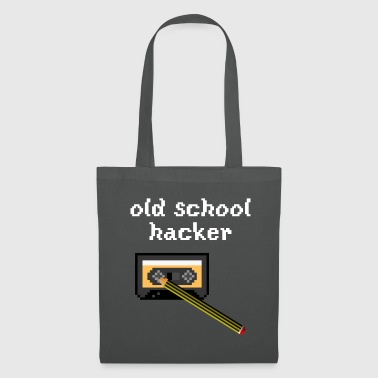 hacker old school - Tote Bag