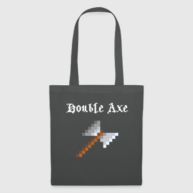 Retrogaming Double hache - Tote Bag