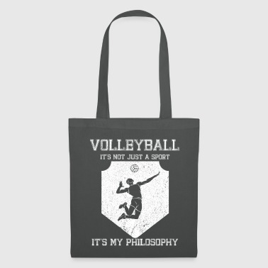 Smash Volleyball cram life philosophy - Tote Bag