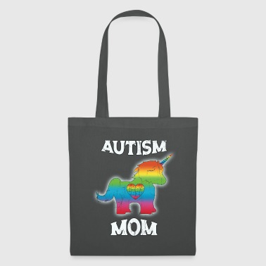 Inlichting Over Autisme Autism Unicorn Mom Autism Awarenesss Vintage - Tas van stof
