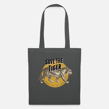 Global Salva la tigre - Borsa di stoffa