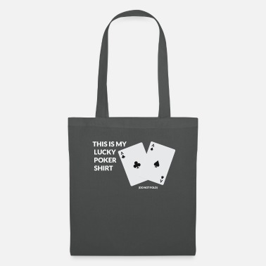 King Queen Jeu de cartes Poker Casino Las Vegas All in Retro - Tote Bag