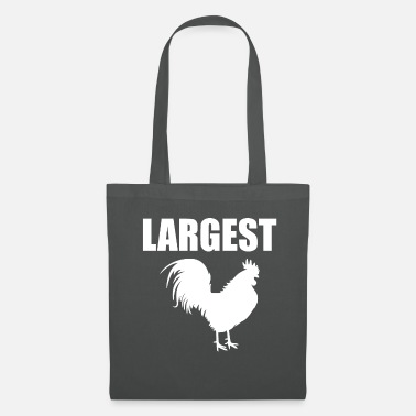 Cock Largest Cock Big Cock Cock Tail Humor - Tote Bag