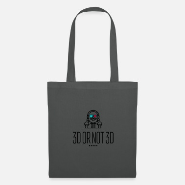 3d 3D or Not 3D - Tote Bag