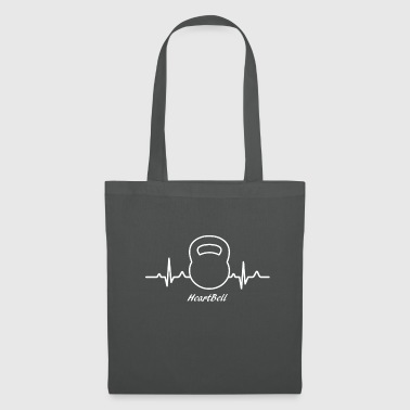 Kettlebell Gift Kettlebell Fitness Heartbeat Squats - Tote Bag