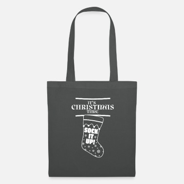 Clin D Oeil C'est le temps de Noël, Sock It Up! - Tote Bag
