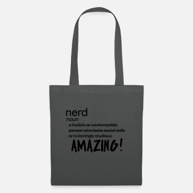 Nerd Nerd / Nerds: Définition de «Nerd» - Tote Bag