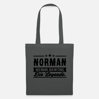 Norman Man Myth Legend Norman - Tote Bag