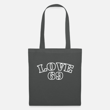 Typo Déclaration de conception Love 69 Sexy Typo Print - Tote Bag