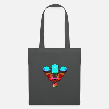3 Points 3 points d'exclamation colorés - Tote Bag