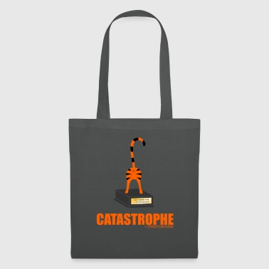 Catastrophe: Rude Cat Joke by Sterry Cartoons - Tote Bag