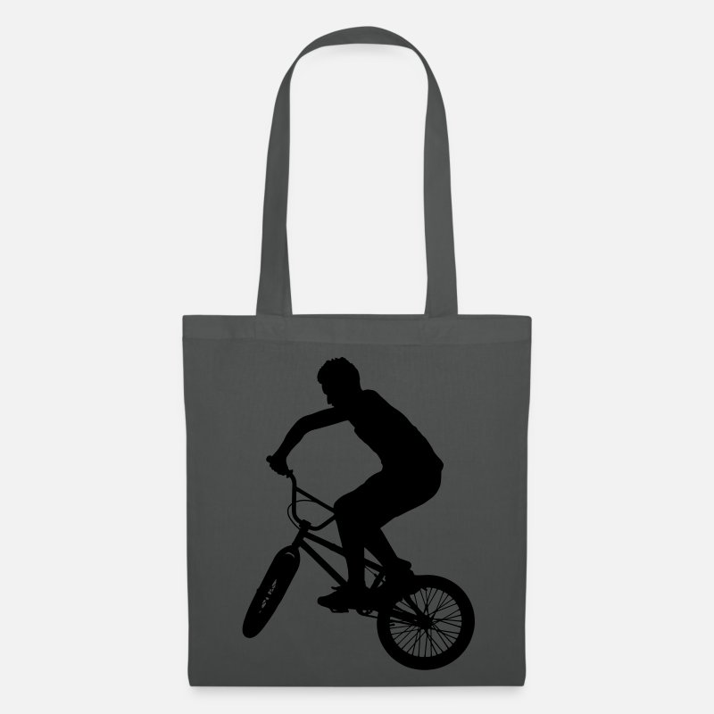 Bmx Sacs et sacs à dos - BMX Bicycle Sports Bike - Sac en tissu gris graphite