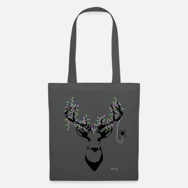 Stag &amp Stage Tote Grey - Tote Bag