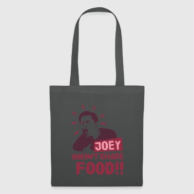 Joey-doesnt-share-alimentaire rouge - Tote Bag
