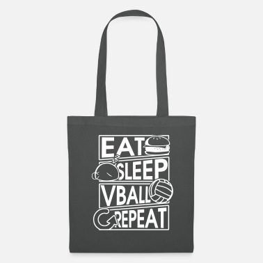 Spike Mangez Sommeil Vball Repeat Volleyball Gift - Tote Bag