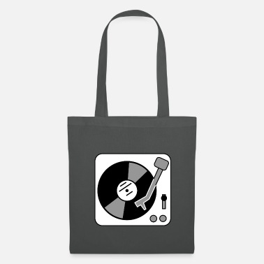 Turntable Turntable - Platter - Tote Bag