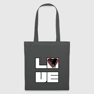 L'amour amour bboy breakdance Breakin - Tote Bag
