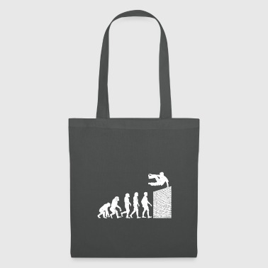 Course Evolution sport jump leisure salto - Tote Bag