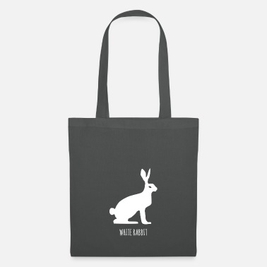 Fable White rabbit, snow hare, fable - Tote Bag