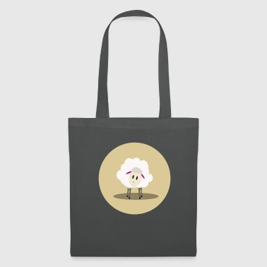 Sheep T-Shirt Front View - Tote Bag