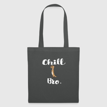 Chill Bro meerkat - Tote Bag