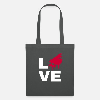 Ala Love piano gift grand piano piano keyboad - Bolsa de tela