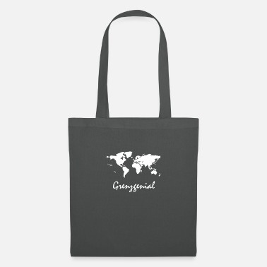Borderline Borderline: traveling is simply the best - Tote Bag