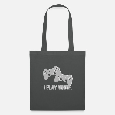 Video I Play White Game Gamer Gaming Gift - Tote Bag