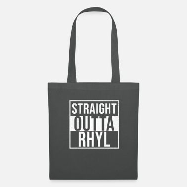 Wales Straight Outta Rhyl - Tote Bag