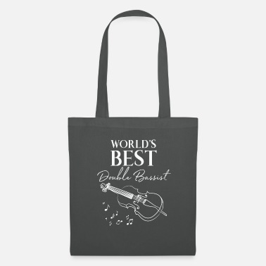 Bass Player Double Bass - Double Bass - Double Bassist - Sheet Music - Tote Bag