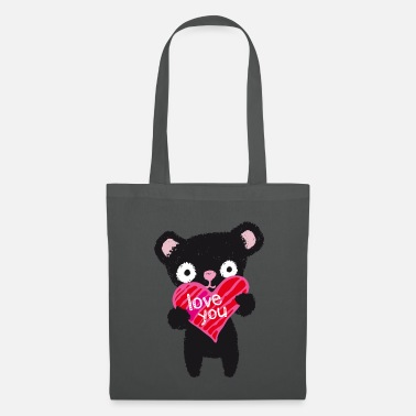 Love Collection Love Bear - Tas van stof